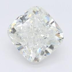 4.03 Carat I-SI1 Cushion Diamond