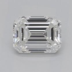 0.9 Carat F-VS2 Emerald Diamond