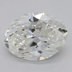 1.5 Carat G-SI1 Oval Diamond